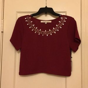 NWT Lovers + Friends Crop Top